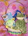 EBSMMFROGBK Easter Mary Meyer BABY  Frog Basket
