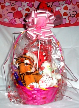 Wild About You, Tiger Valentine Gift Basket