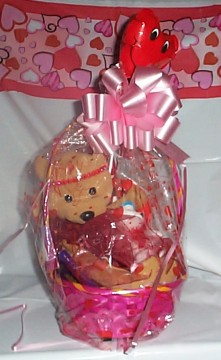Bear Kisses Basket