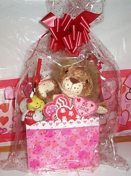 Softee Wild About You, Lion Valentine Basket