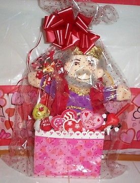 Doll puppet King of Hearts Basket