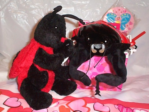 Love Bug Valentine Basket